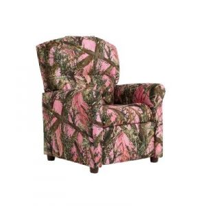 Astounding Kids Recliner Pink Blaze Camo For The Kids Kids Gmtry Best Dining Table And Chair Ideas Images Gmtryco