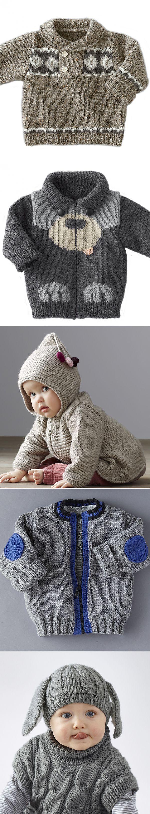 Вязание для малышей, спицы, Phildor. | Деткам | Постила