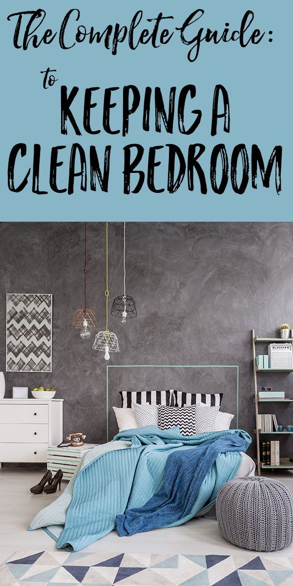 Clean Bedrooms Alluring The Complete Guide To Keeping Your Bedroom Clean  Bedroom Design Ideas