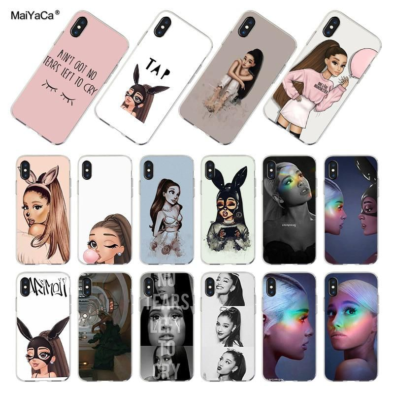 Maiyaca Singer Pink Ultrathin Novelty Fundas Phone Case Cover For Apple Iphone 8 7 6 6s Plus X Xs Max 5 5s Se Xr Cellphones Cellphones & Telecommunications