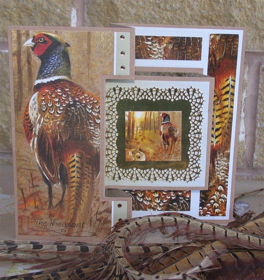 woodland bird 1   docrafts.com
