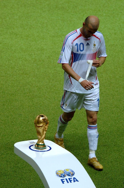 Finale Mondiale Germania 2006, Zidane espulso per la clamorosa testata a Materazzi.