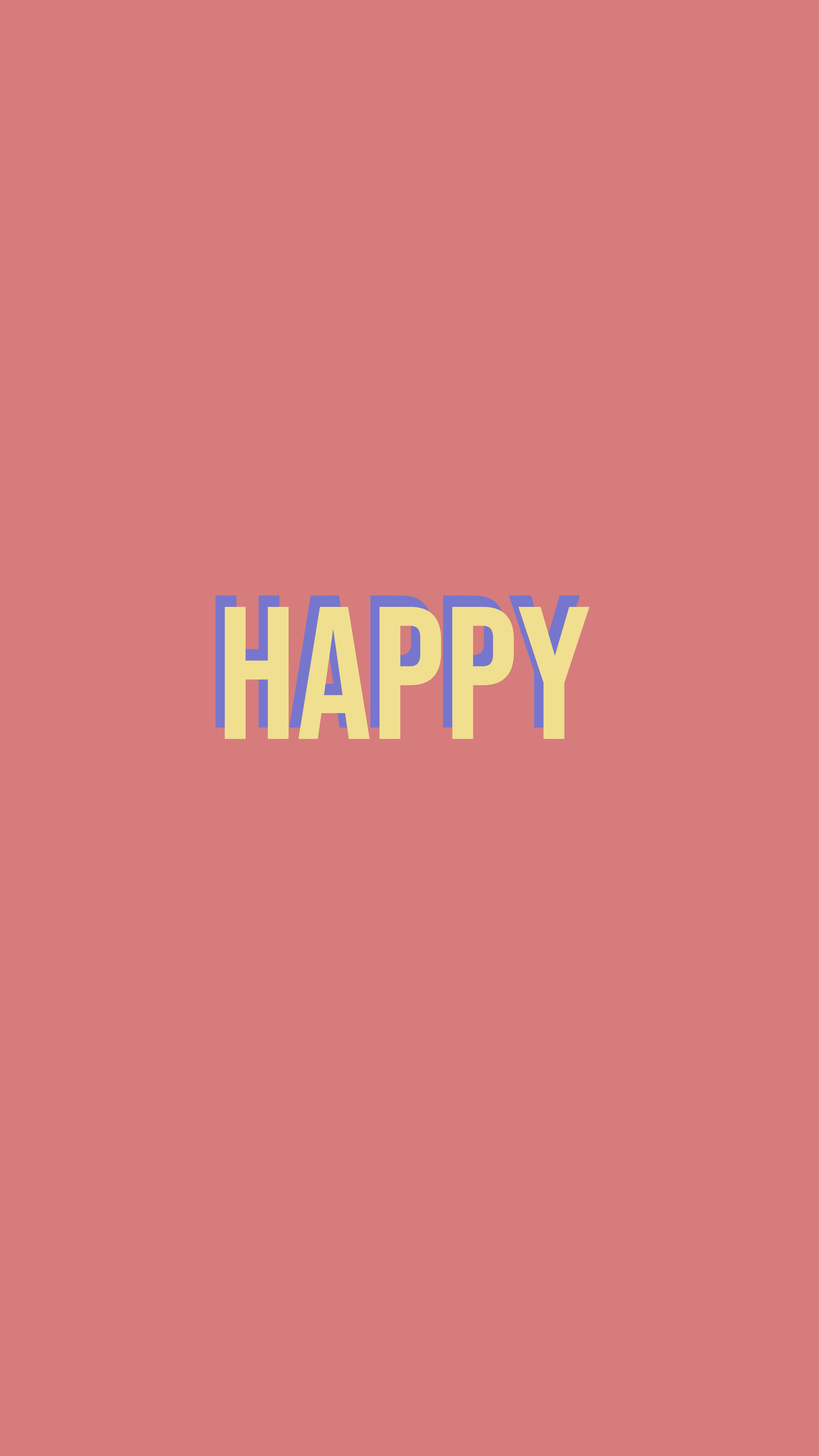 quote #words #pink #happy #background #wallpaper #iphone #plus