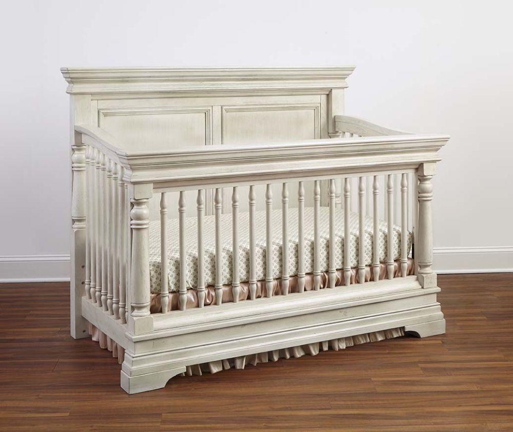 Baby cribs rustic - Stella Baby Child Kerrigan Convertible Crib Rustic White