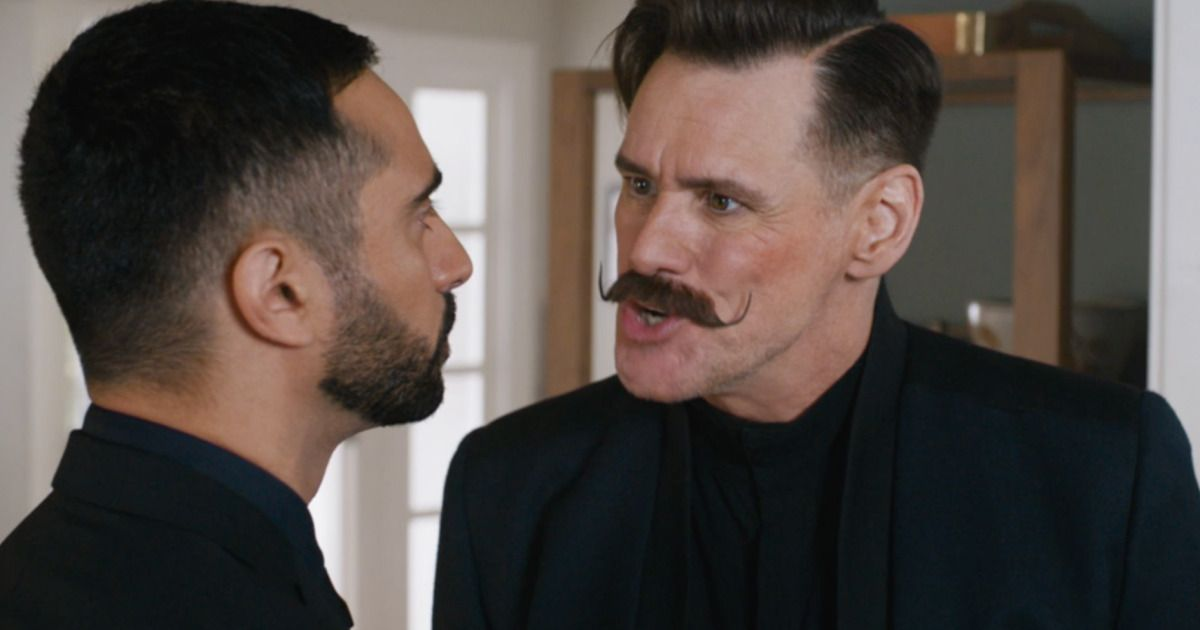 Jim Carrey Plays A Moustache Twirling Villain In First Sonic The Hedgehog Trailer Jim Carrey Sonic The Hedgehog Sonic