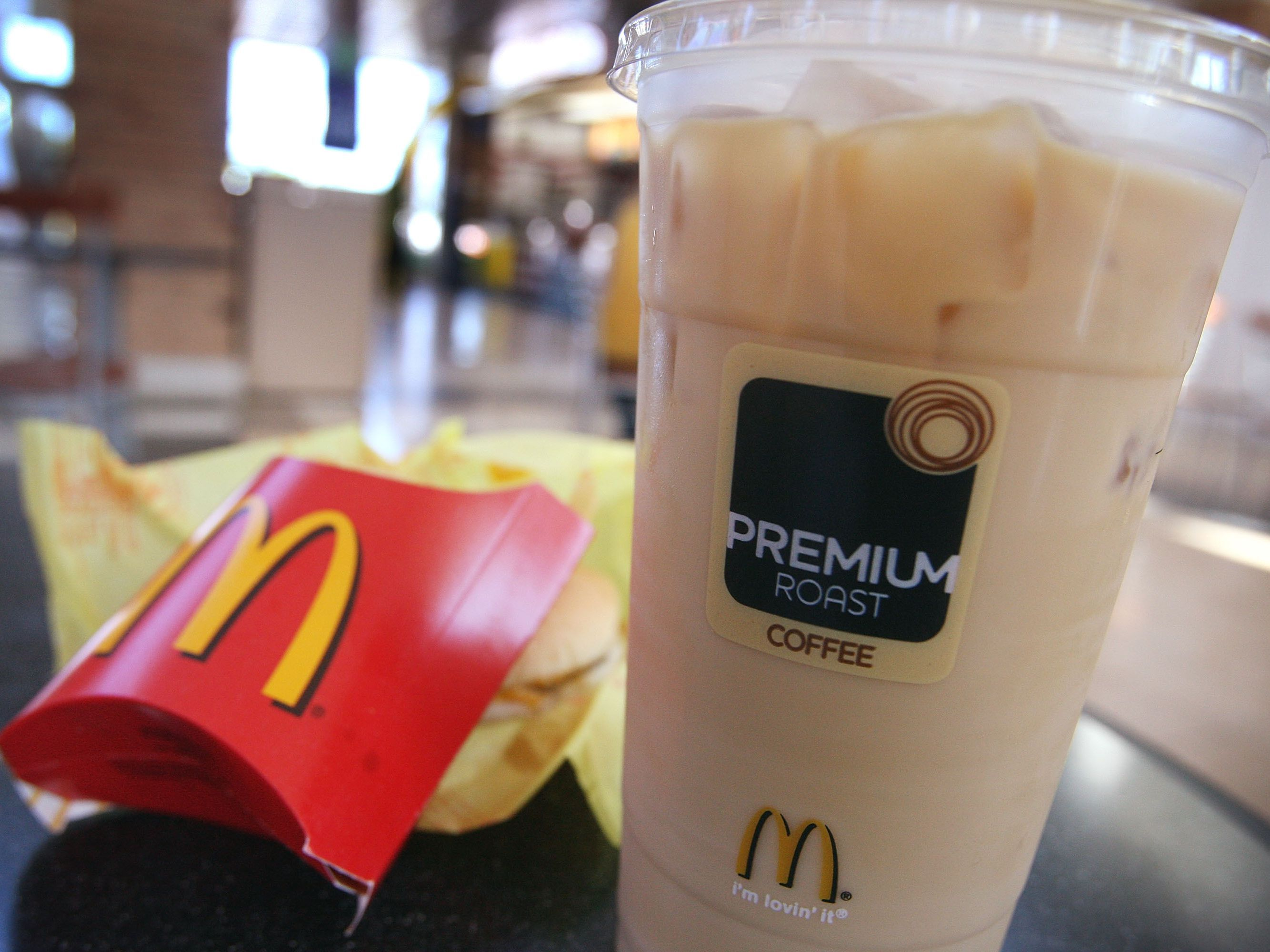 How Many Calories In Mcdonalds Large Iced Coffee With