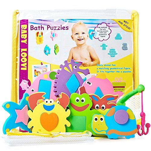 Foam Bath Toys - Educational Toys for Toddlers - Fun Floa ...
