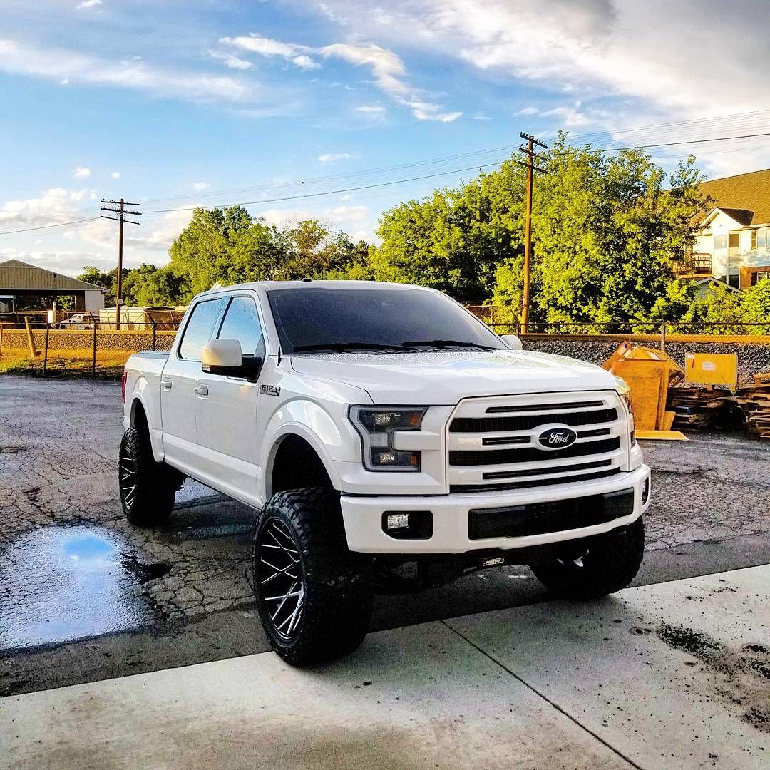 Customer Spotlight Mike S 2016 F150 Platinum Build