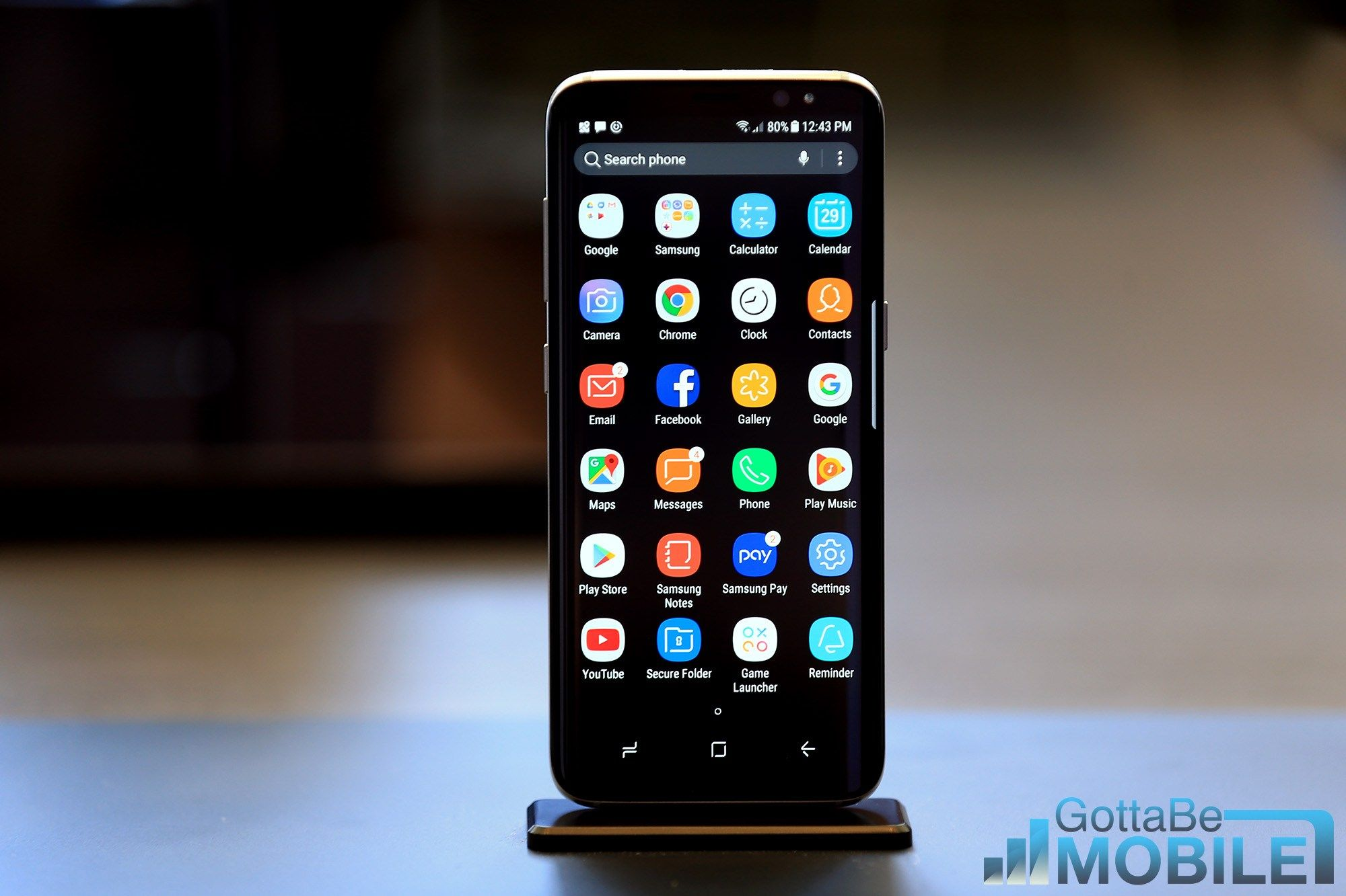 Here's how to change the Galaxy S9 text message app
