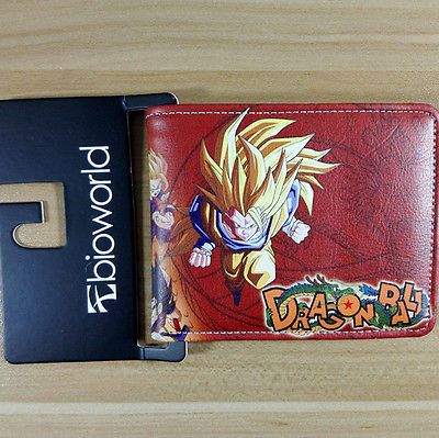 Dc Cartoon  Wallet Dragon Ball Thor Saw Inside Out Chucky Thundercats Purse W268