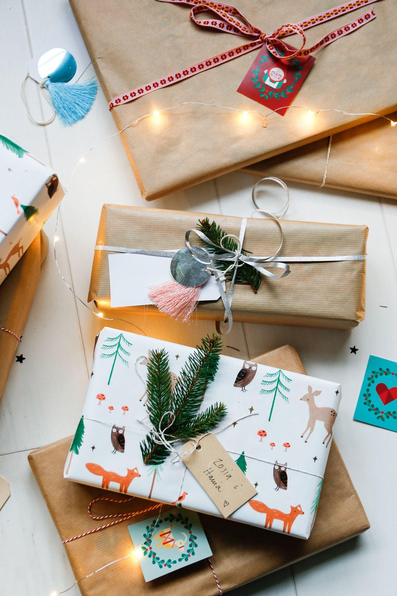 Co Damy Naszym Dzieciom Pod Choinke Mrspolkadot Gift Wrapping Gifts Wrap
