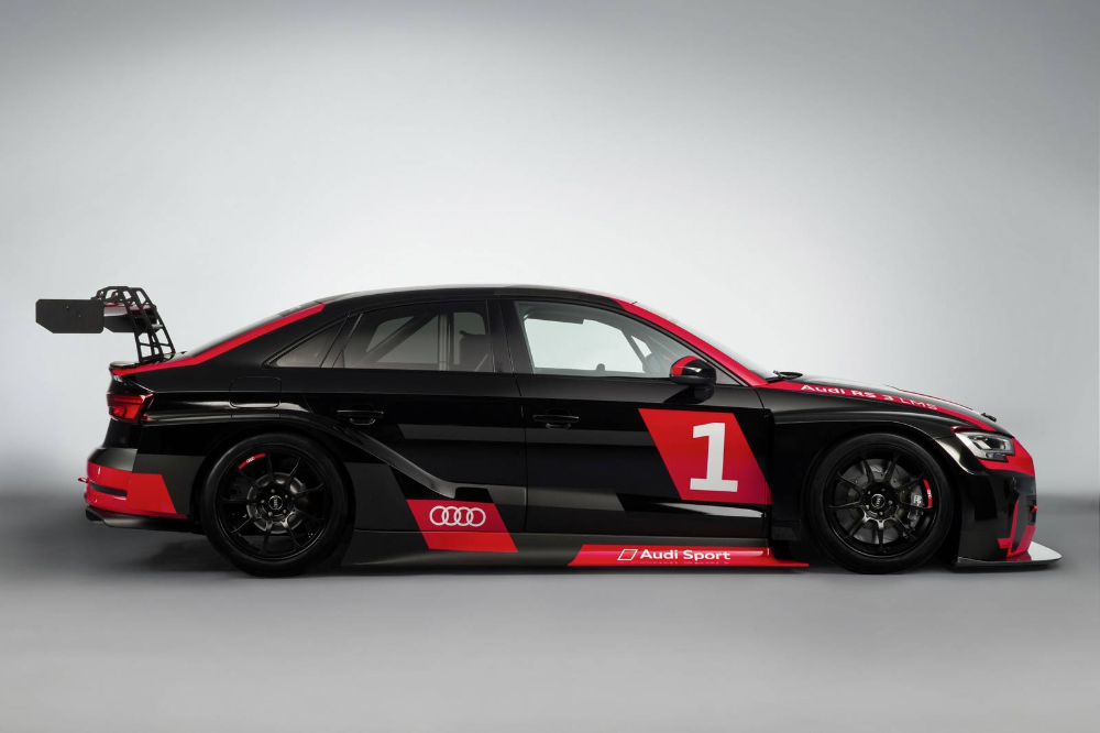 This Wing Comes With A New Audi Rs3 Lms In 2020 Audi Rs3 Audi Rs Audi
