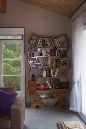 Ma Grande Bibliotheque Meuble En Carton Meuble Deco Et Mobilier En Carton