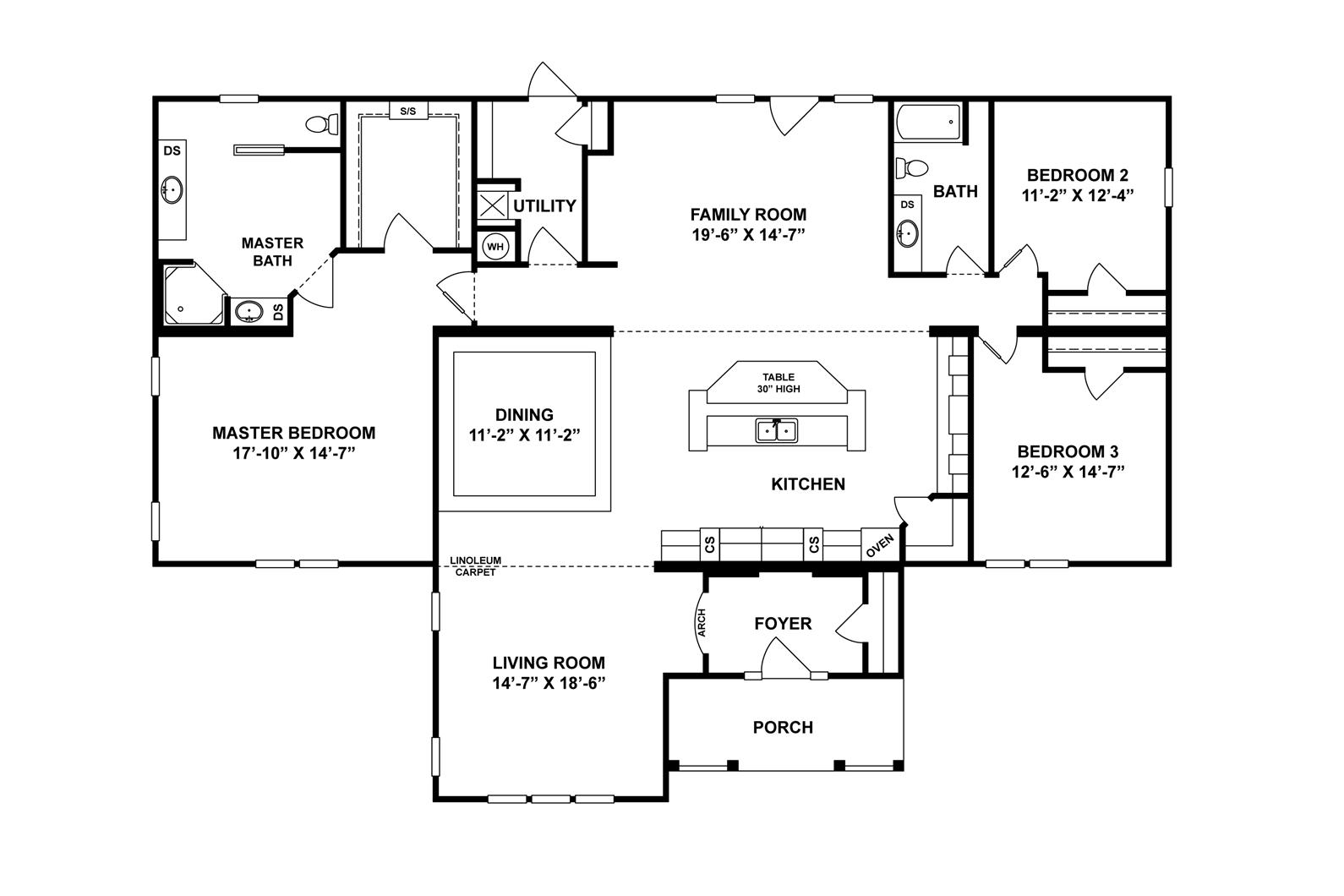 Interactive Floor Plan Modular homes for sale, Floor