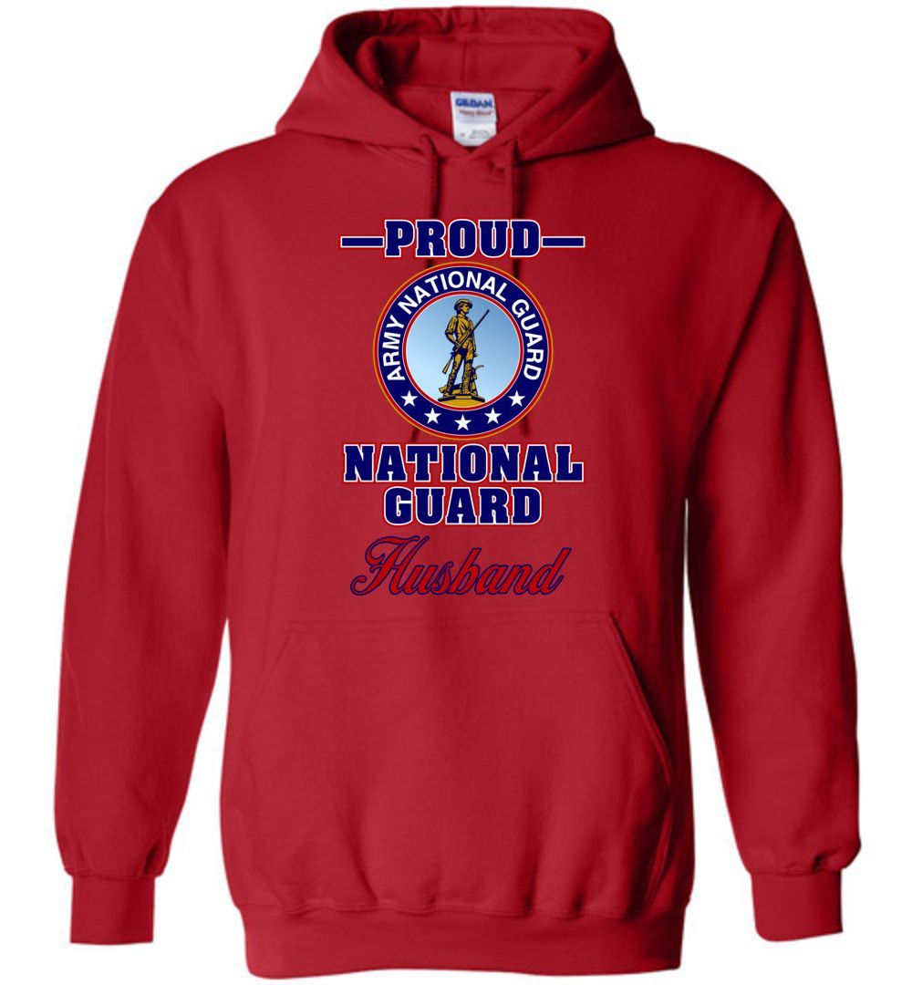 Proud U.S. Army National Guard Husband Hoodie