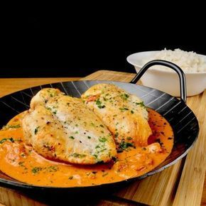 Photo of Chicken Breast in a Tomato Cream Cheese Sauce – Too Lazy To …