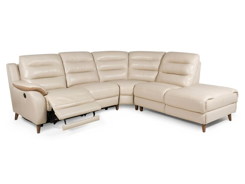 La Z Boy Turner 2 Corner 1 Power Recliner Rhf Chaise With Storage Corner Sofa And Chair Power Recliners American Sofa