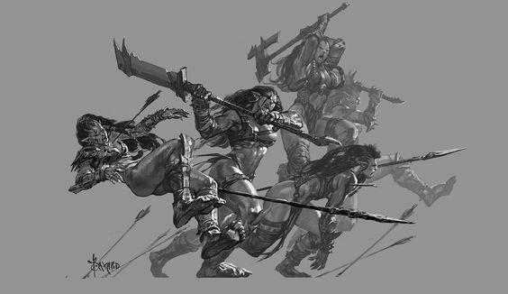 Some practice about Orc, part 2. My Facebook--->https://www.facebook.com/bayard.wu/ My Weibo--->http://weibo.com/bayardwu