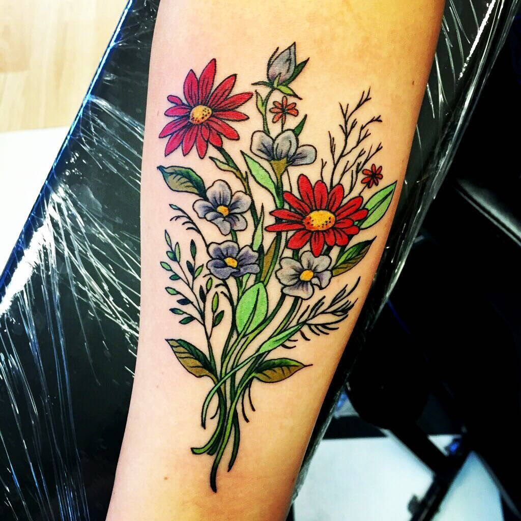 40 Gorgeous Floral Tattoo Designs Symbols Of Love Check More At