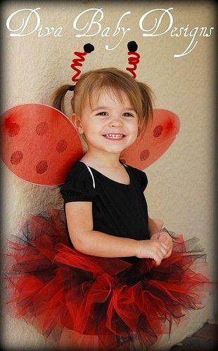 Ladybug halloween costume includes tutu wings by - Disfraz de mariquita de nina ...