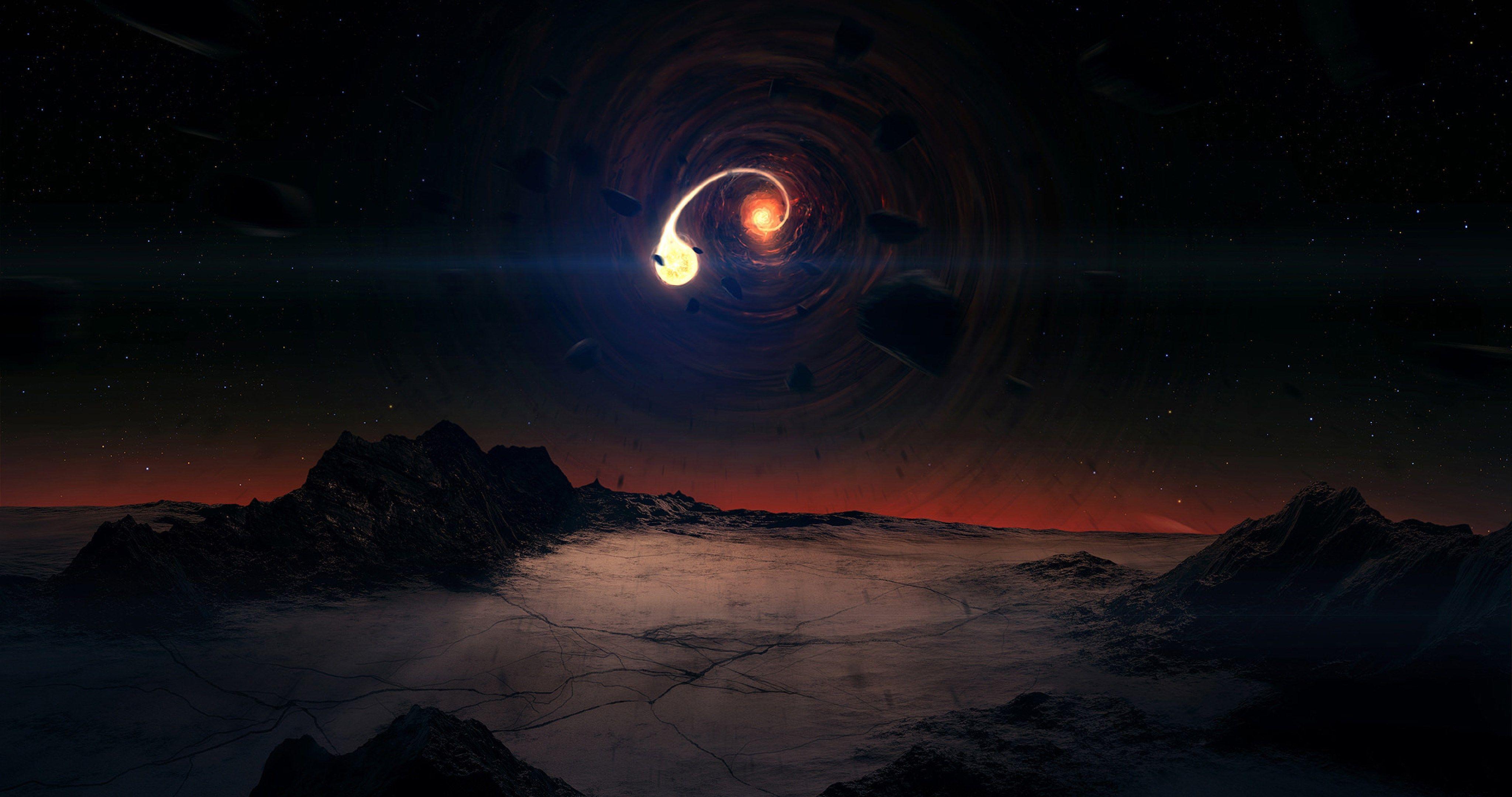 Other Worlds Planet 4k Ultra Hd Wallpaper Ololoshenka