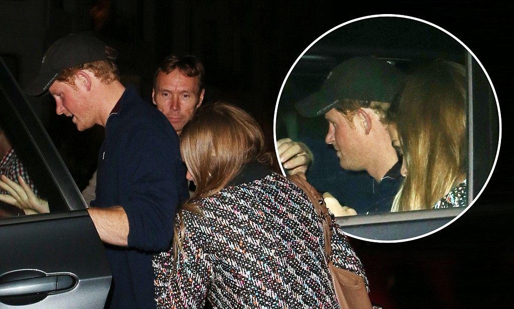 Prince Harry treats girlfriend Cressida Bonas to a James