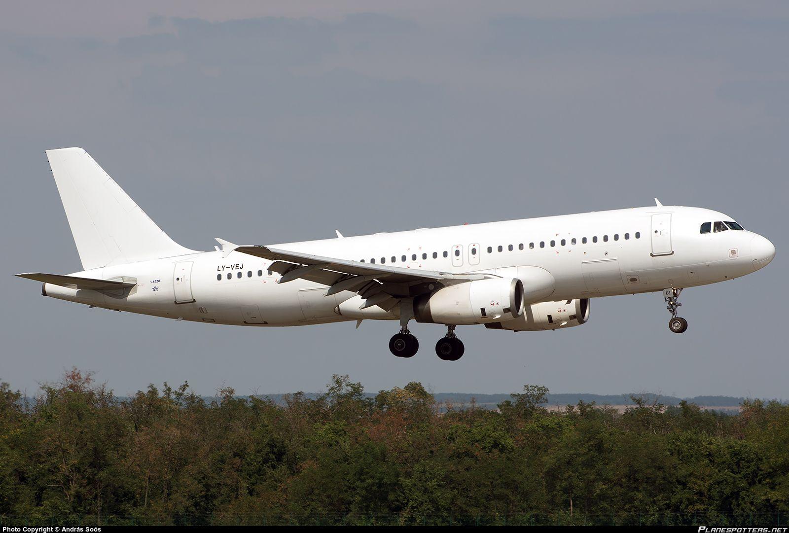 LY-VEJ Avion Express Airbus A320-232