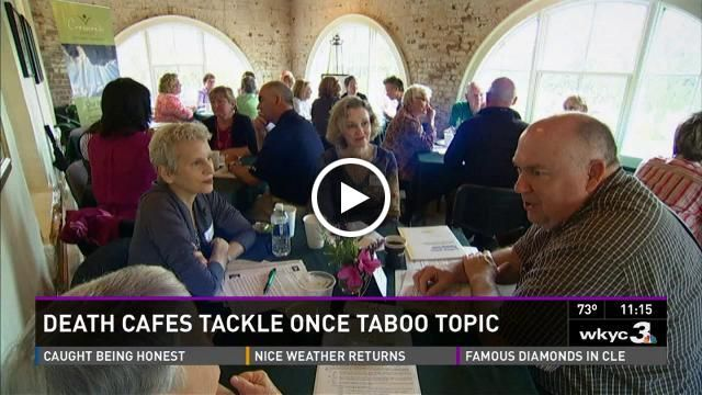 eFuneral is in the news!  Check out great coverage from our recent #DeathCafe event, from #WKYC #Cleveland.