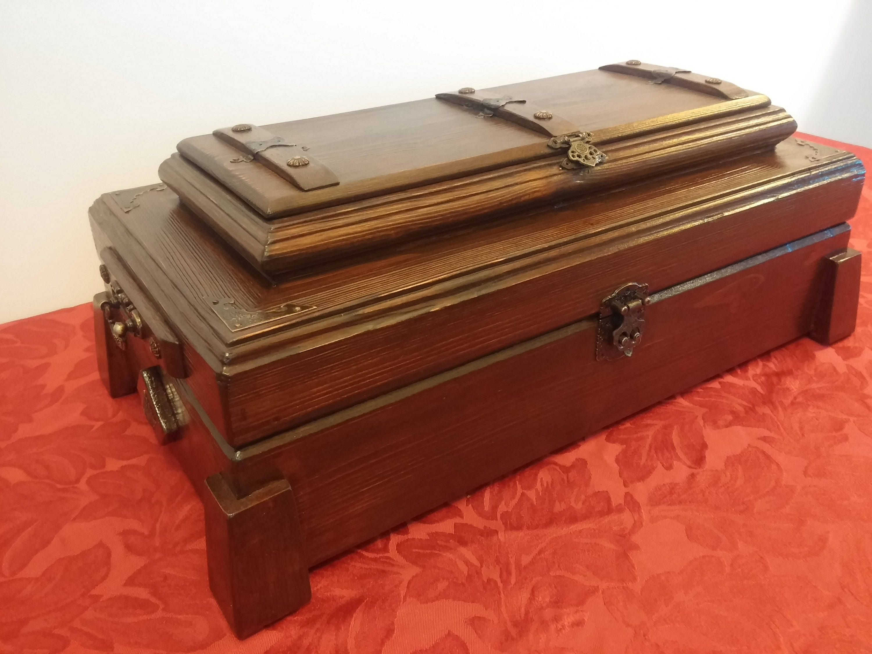 Jewelry Box Wooden Jewelry box Jewelry Storage Carved Casket