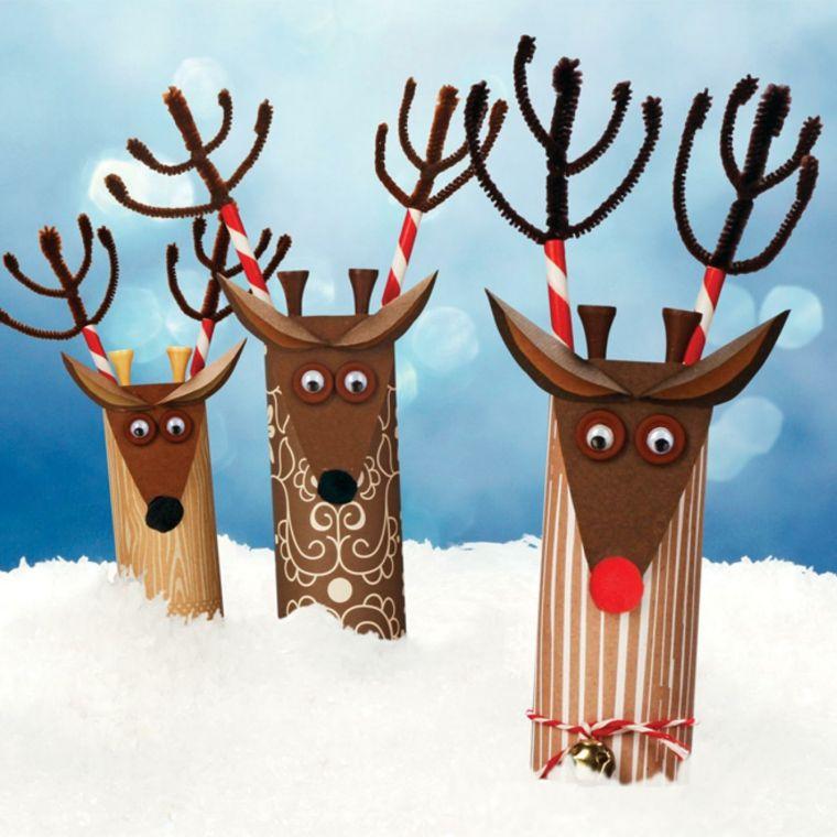 Manualidades para decorar el interior en Navidad Decoración para - manualidades para navidad