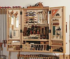 A Cabinet For Hand Tools   Fine Woodworking Article