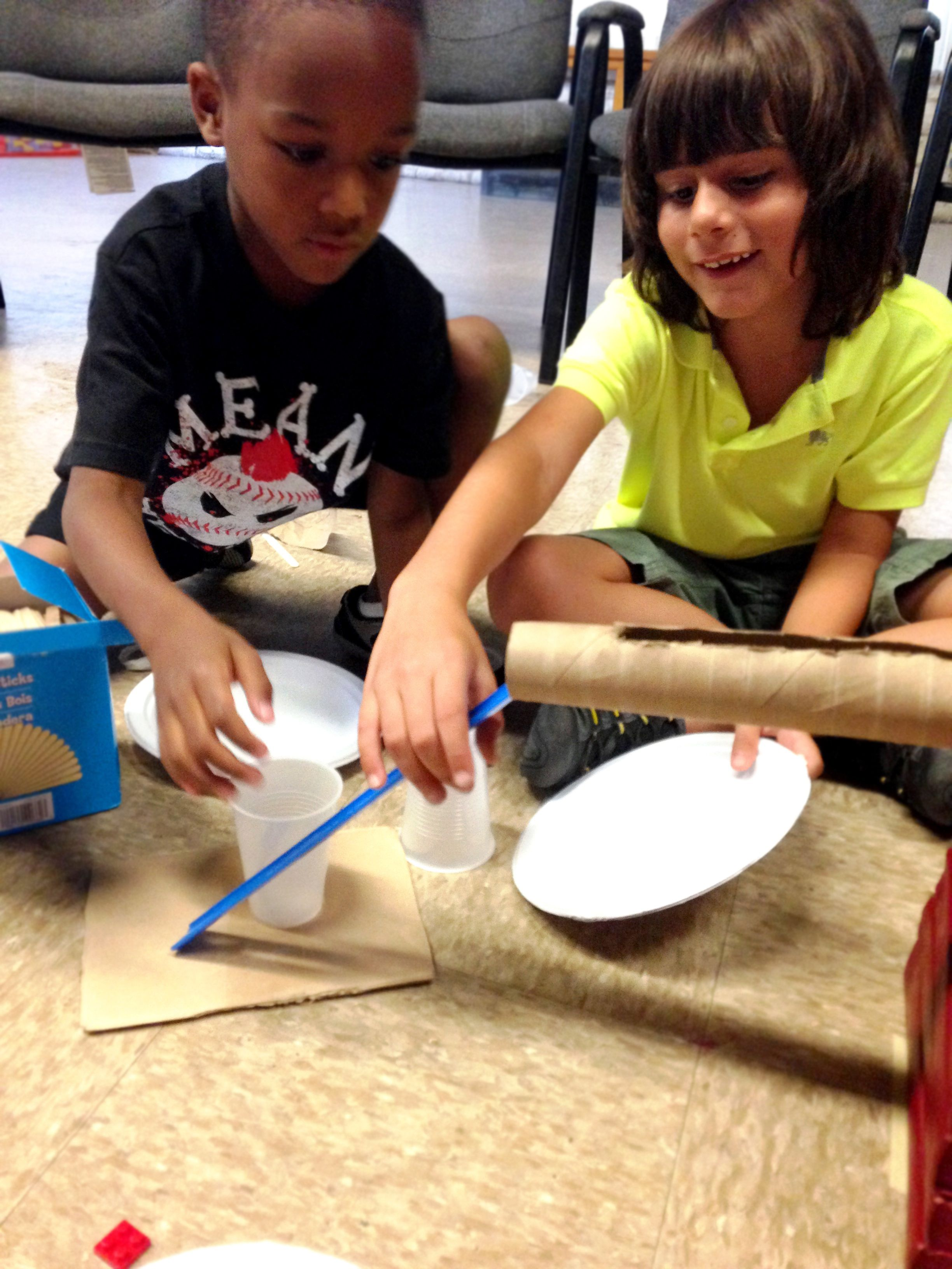 Physics In Nature Camp Kids Learn About Simple Machines