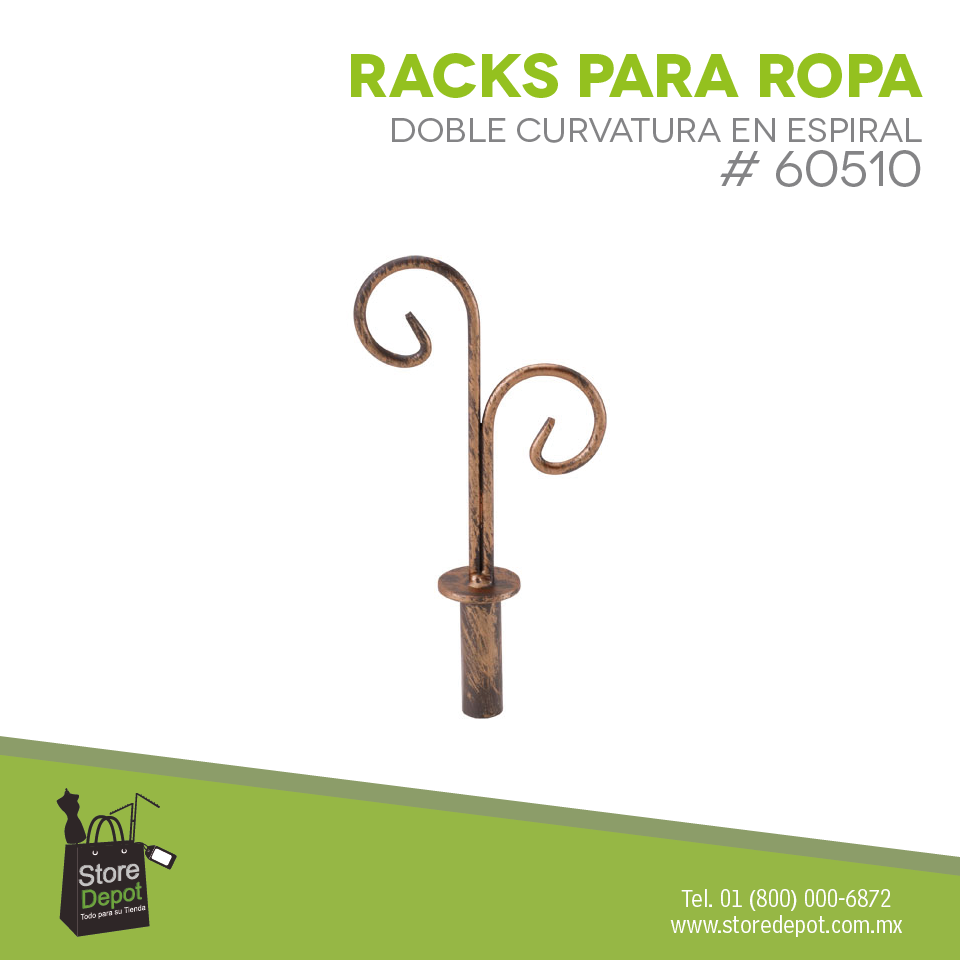 Estiliza tu tienda con estos Racks para darle más estilo y originalidad. ¡Cotiza con nosotros!