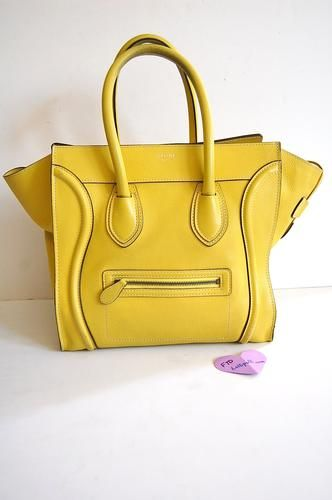 19bc0be409 Authentic pre-owned Celine Mini Luggage Smiley Face bag on sale for  1400!