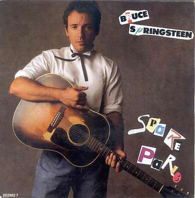 Springsteen With His Old Favourite Tobacco Burst J 45 Bruce Springsteen Bruce Springsteen Albums Lp Albums