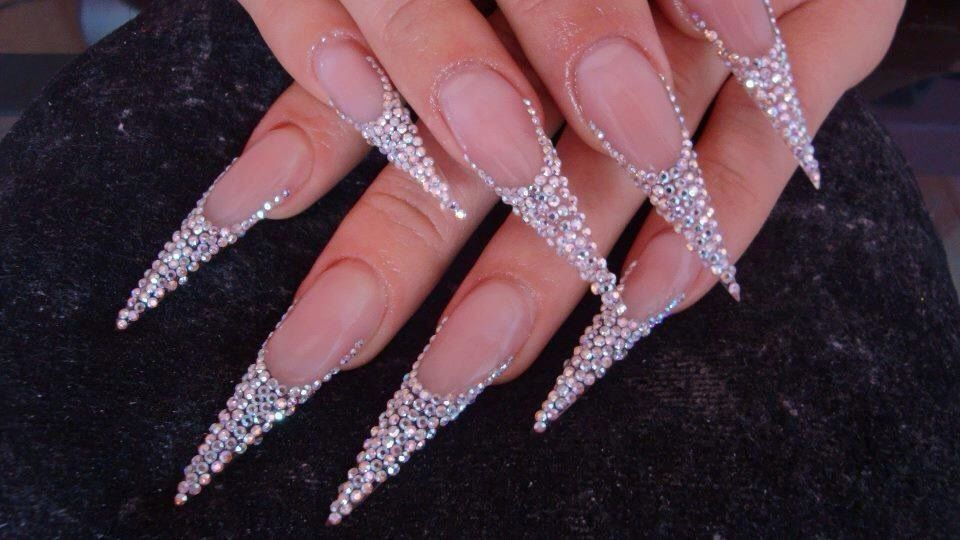 So delicate n fancy | acrylic nails, gel, acrylic, manicures, nail ...
