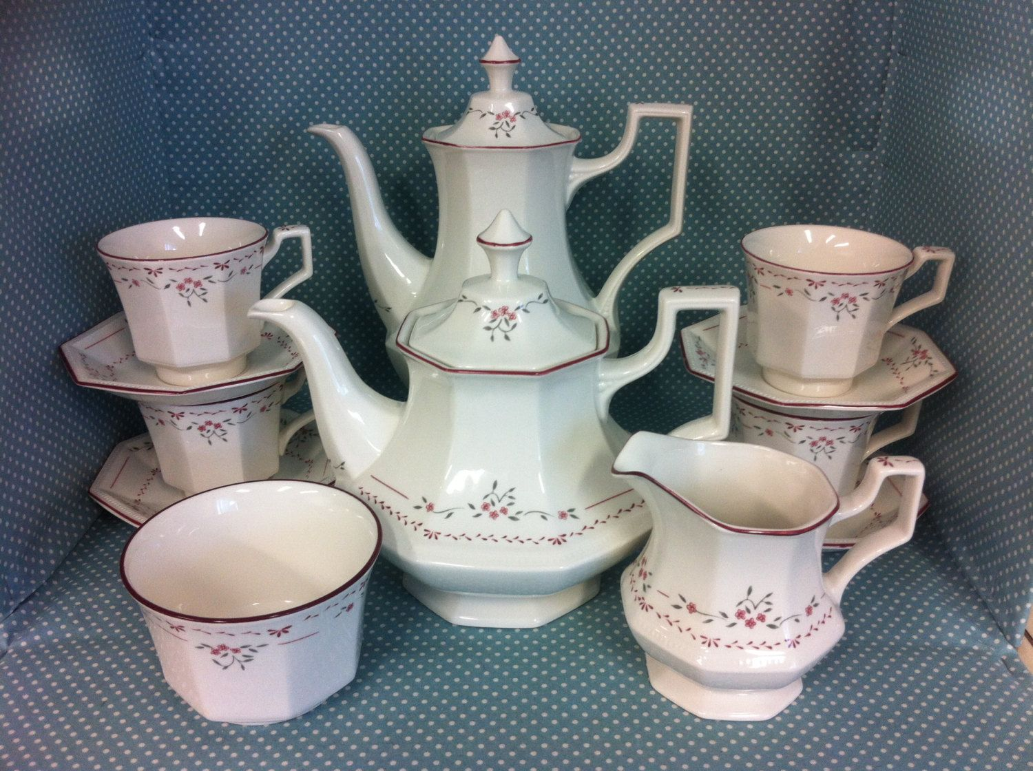 Vintage Johnson Brothers Madison Pattern Tea And Coffee Set Free Uk Post 39 99