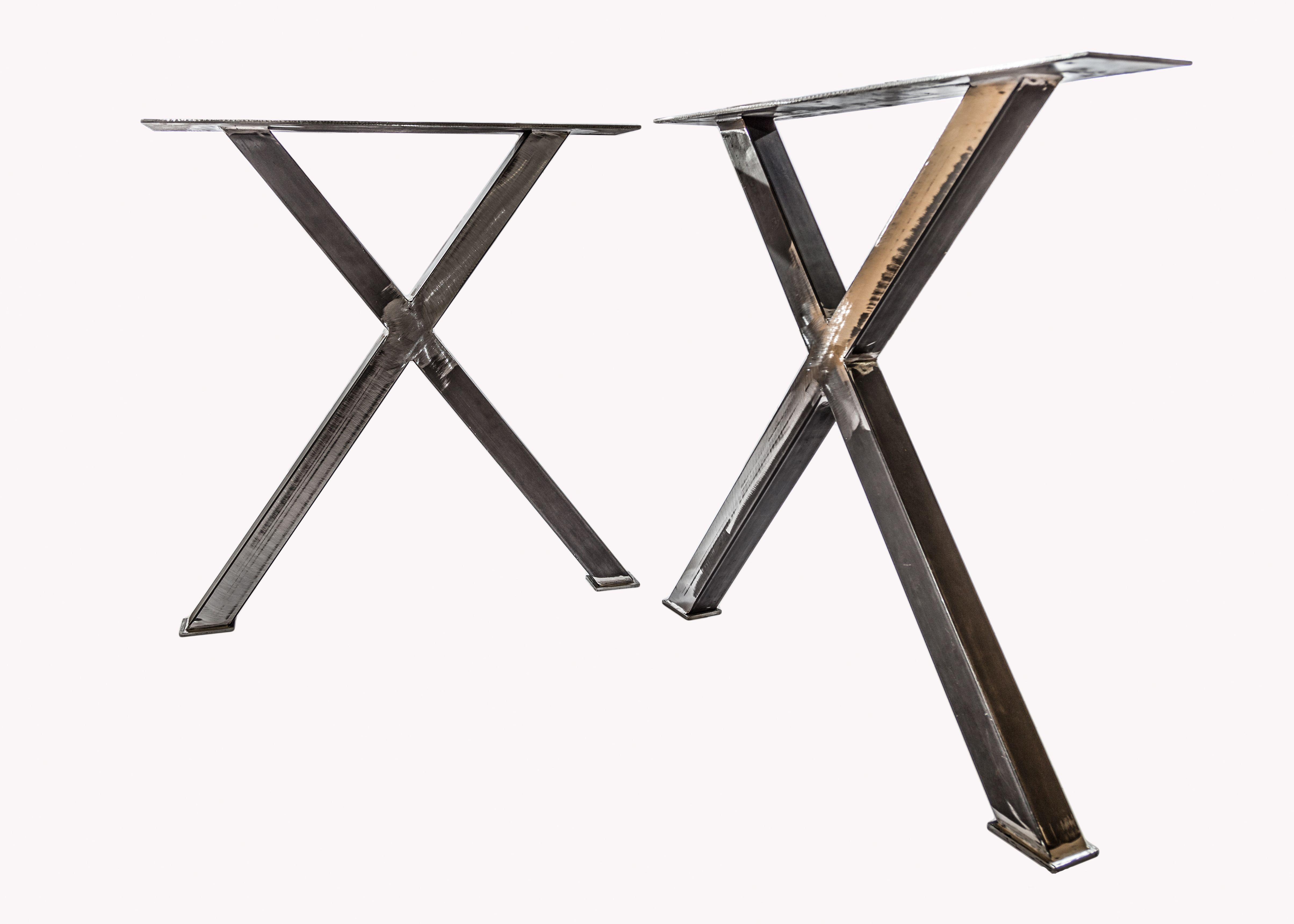 Pair of iron legs for dining table   Tavoli da pranzo ...