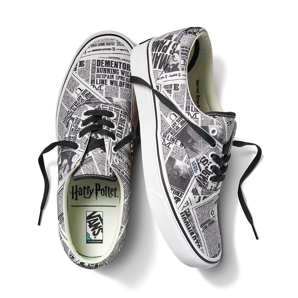 Harry Potter x Vans Daily Prophet ComfyCush Era Sneaker   Harry ...