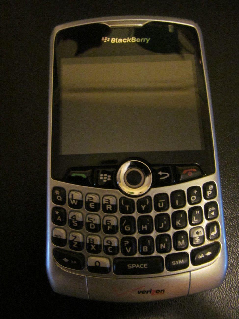 BlackBerry Curve 8330 Smartphone Used Great Condition Verizon