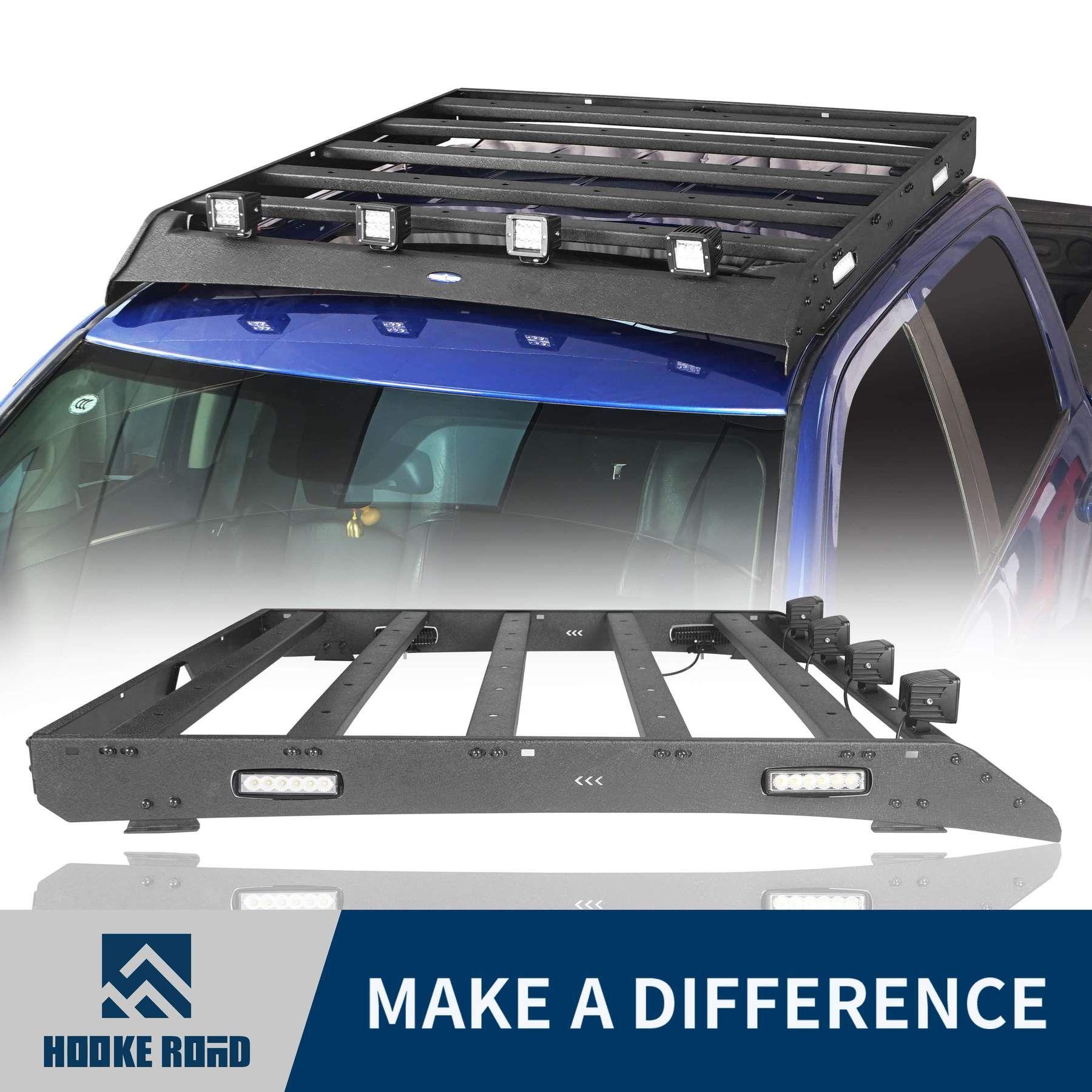 Hooke Road Top Roof Rack Cargo Carrier 09 18 Dodge Ram 1500 Crew Cab In 2020 Roof Rack Truck Roof Rack Dodge Ram