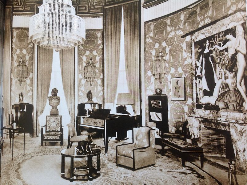 Salon Of The H 244 Tel Du Riche Collectionneur From The 1925