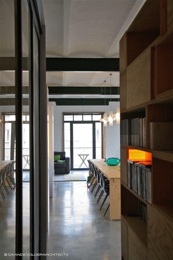Simon's loft (daan de volder architects)