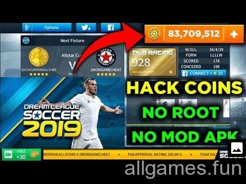 Dream League Soccer 2019 Hack Generator Download Games Free Games Game Cheats