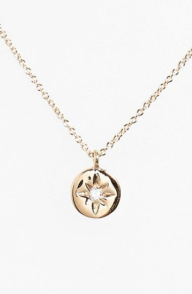 heroine diamond pendant necklace / kismet by milka