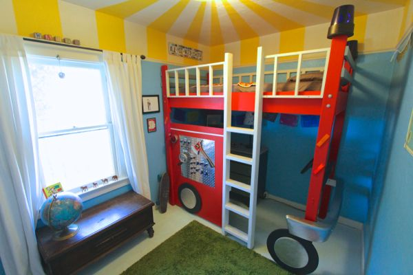 bright fun children\u0027s bedroom The House Where Nobody Lives - Childrens Bedroom Ideas