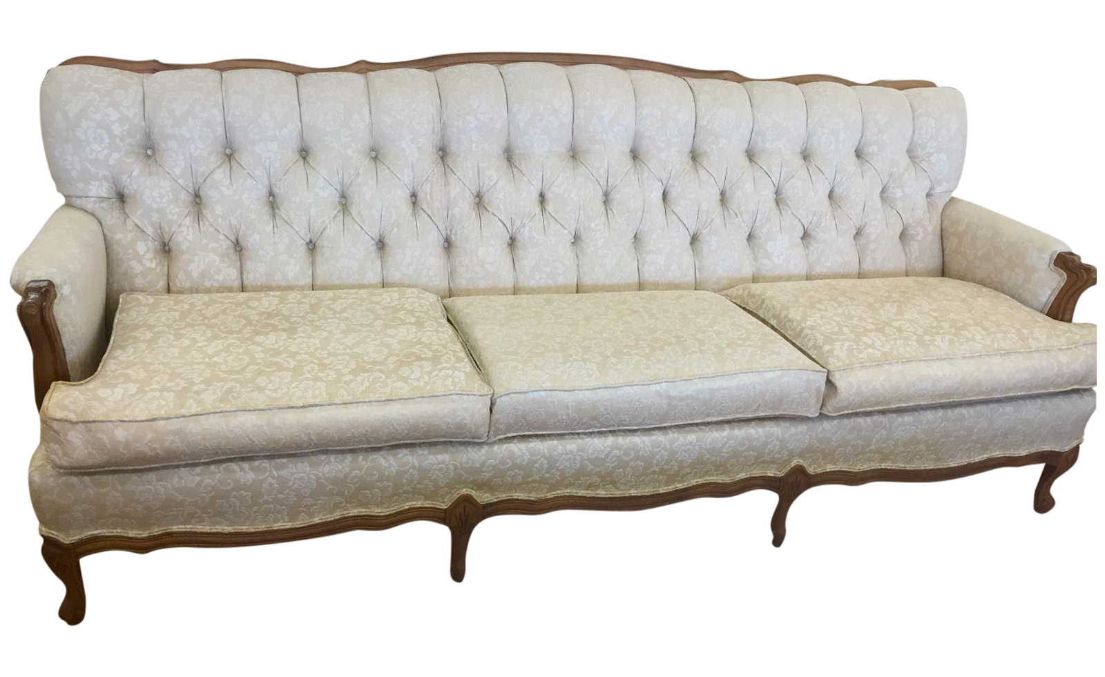 wedding sofa queen bed broyhill chesterfield french provincial pinterest