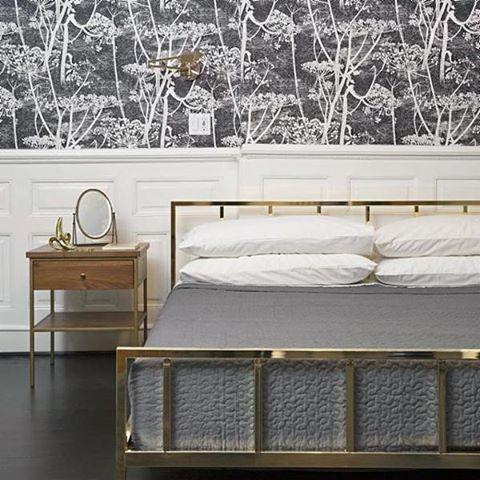 Sleek Brass Frame By Barcelona Based Mermelada Estudio Dreams Up A