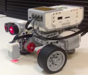lego robot instructions easy