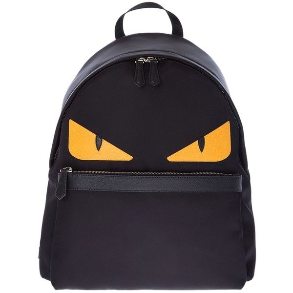 2c623ed3f15d Pre-owned Fendi Bugs Monster With Yellow Eyes Nylon Backpack ( 1